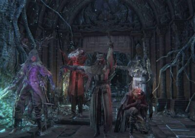 Bloodborne PVP Sinister Chalices Salute 4