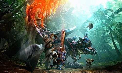 monster hunter generation fantasy rpg