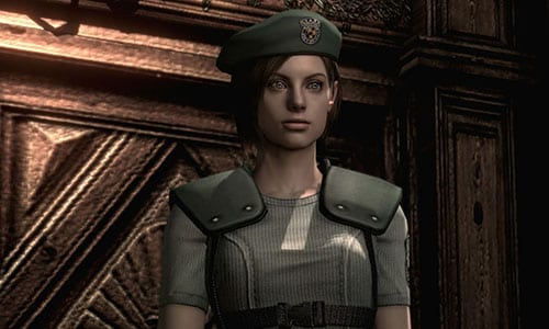 best female video game characters Jill Valentine Resident Evil