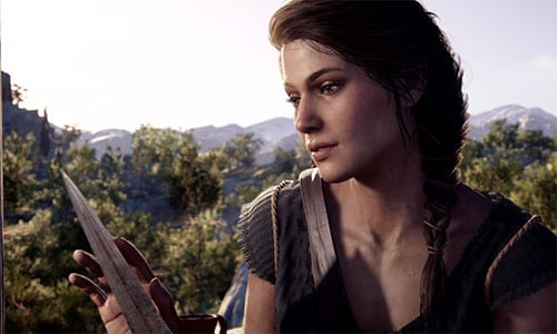 best female video game characters Kassandra Assassin's Creed Odyssey