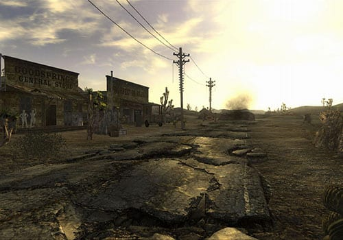 falloout new vegas post apocalyptic