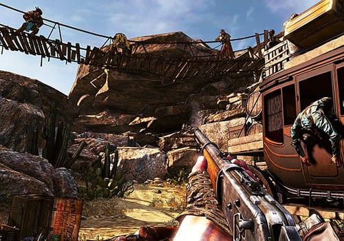call of juarez gunslinger wild west games screenshot