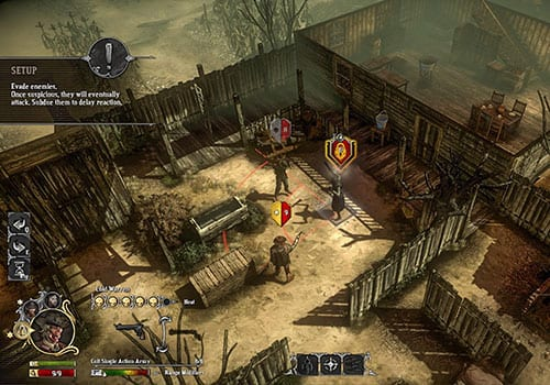 hard west underrated wild west games screenshot