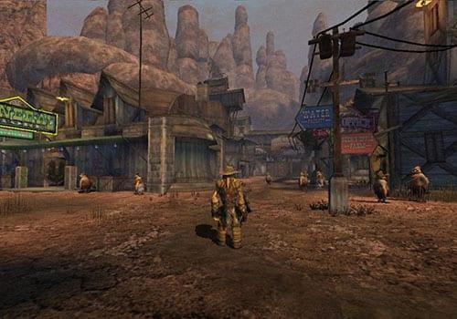 oddworld stranger's wrath HD underrated wild west games screenshot