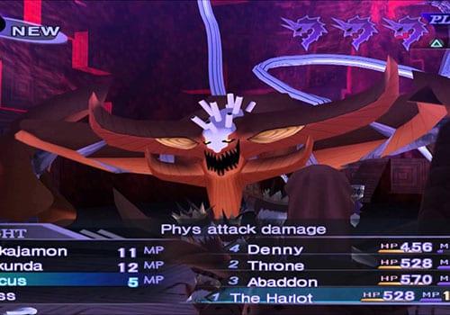 shin megami tensei nocturne best jrpgs screenshot