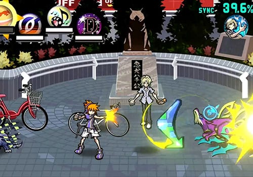 the world ends with you best jrpgs screenshot