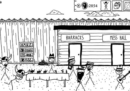 west of loathing underrated wild west games screenshot