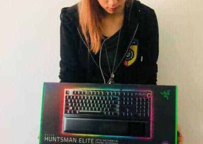 The best gaming keyboard - Razer Huntsman