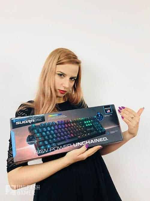 Roccat Suora - best gaming keyboards