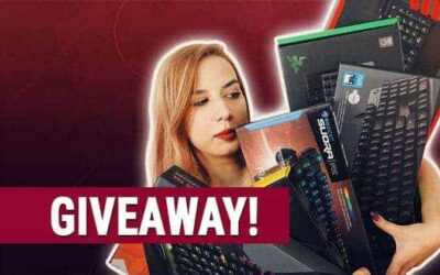 We're Giving Away 1 Gaming Keyboard – Here's What you Have to Do