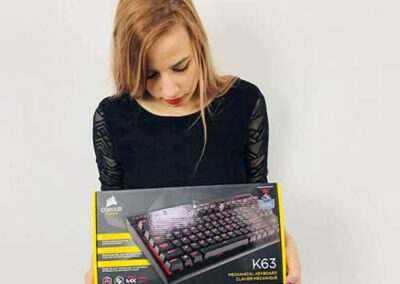best gaming keyboards - 5. Corsair K63