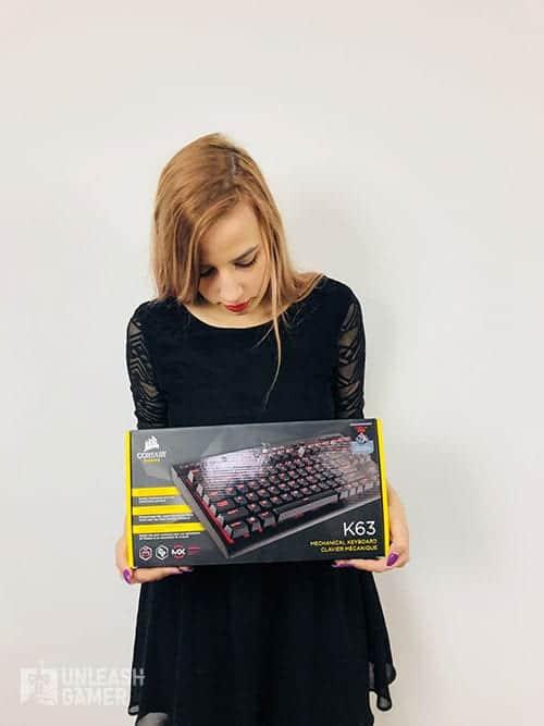 best gaming keyboards - 5. Corsair K63