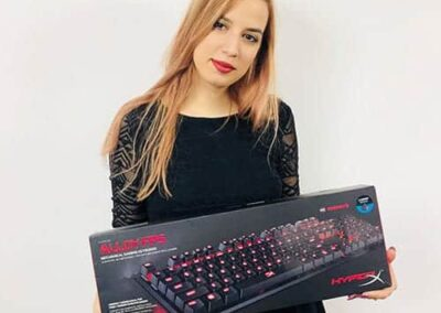 Best gaming keyboards nr. 6 - Hyper X Alloy