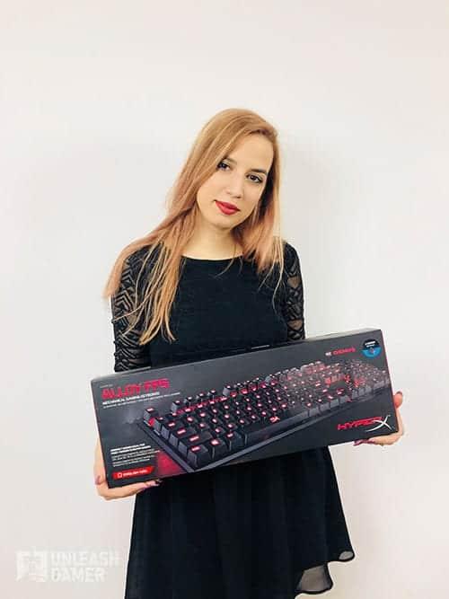 Best gaming keyboards nr. 6 - Hyper X Alloy