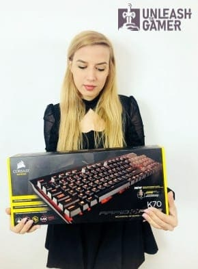 Corsair Rapid Fire - one of the best gaming keyboards