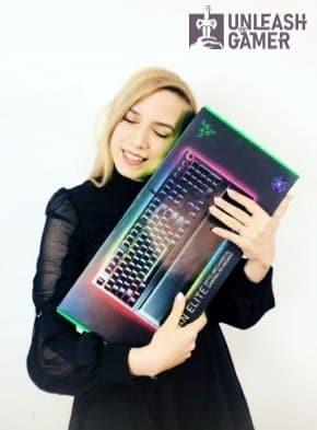 Razer Huntsman Elite - the best gaming keyboard