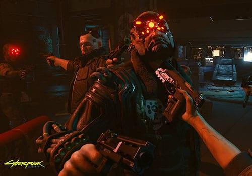 cyberpunk 2077 e3 photo