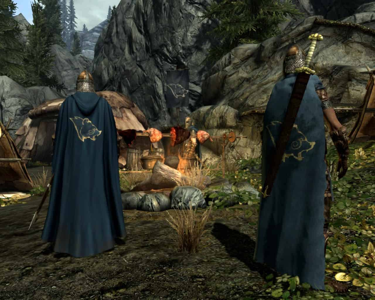 Cloaks of Skyrim best skyrim mods