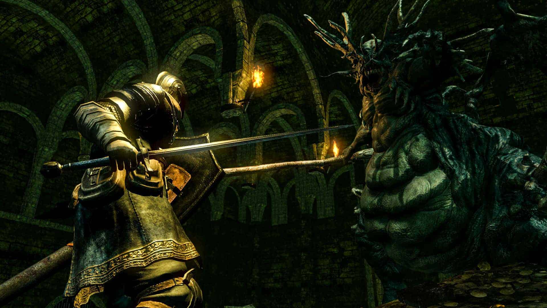 Dark Souls games like skyrim
