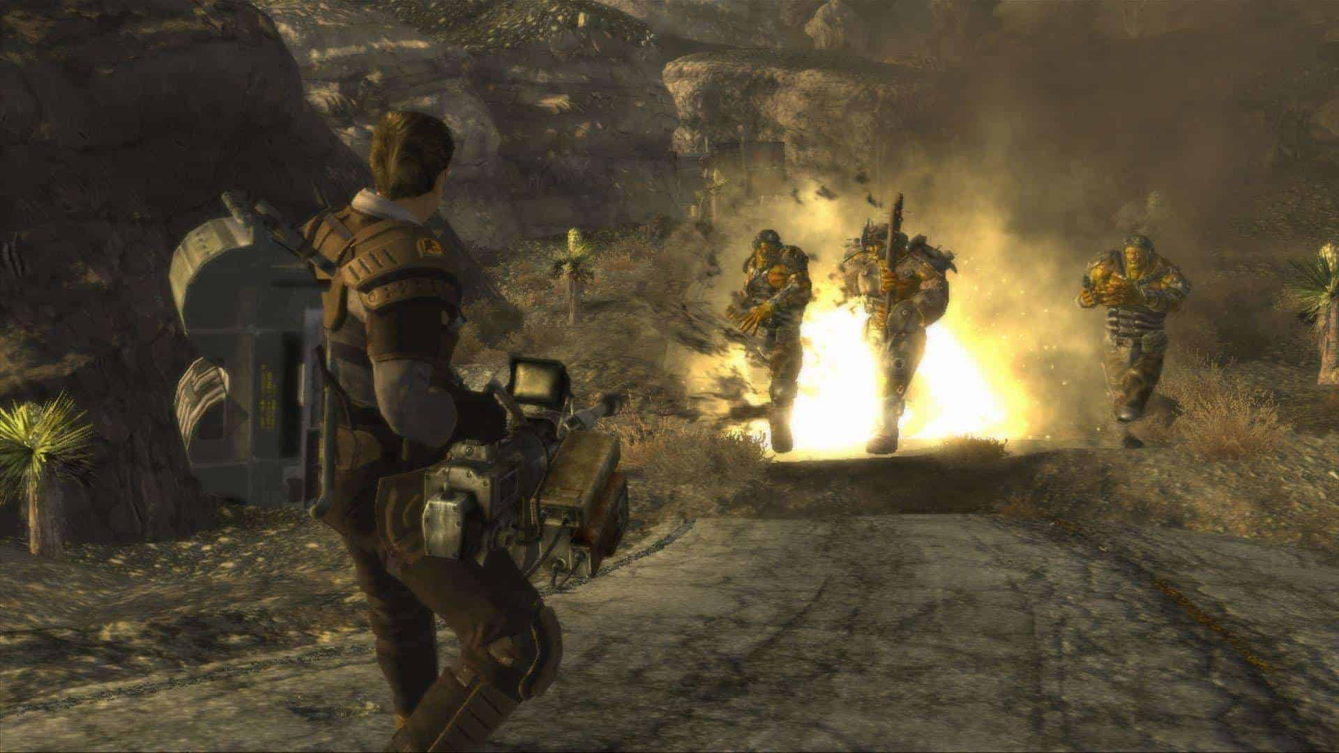 Fallout new vegas games like skyrim