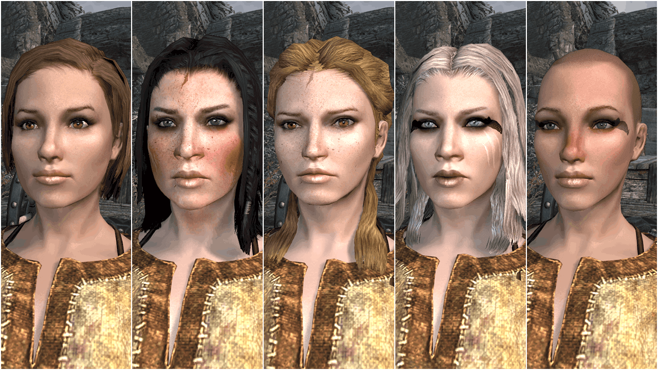 Total Character Makeover best skyrim mods