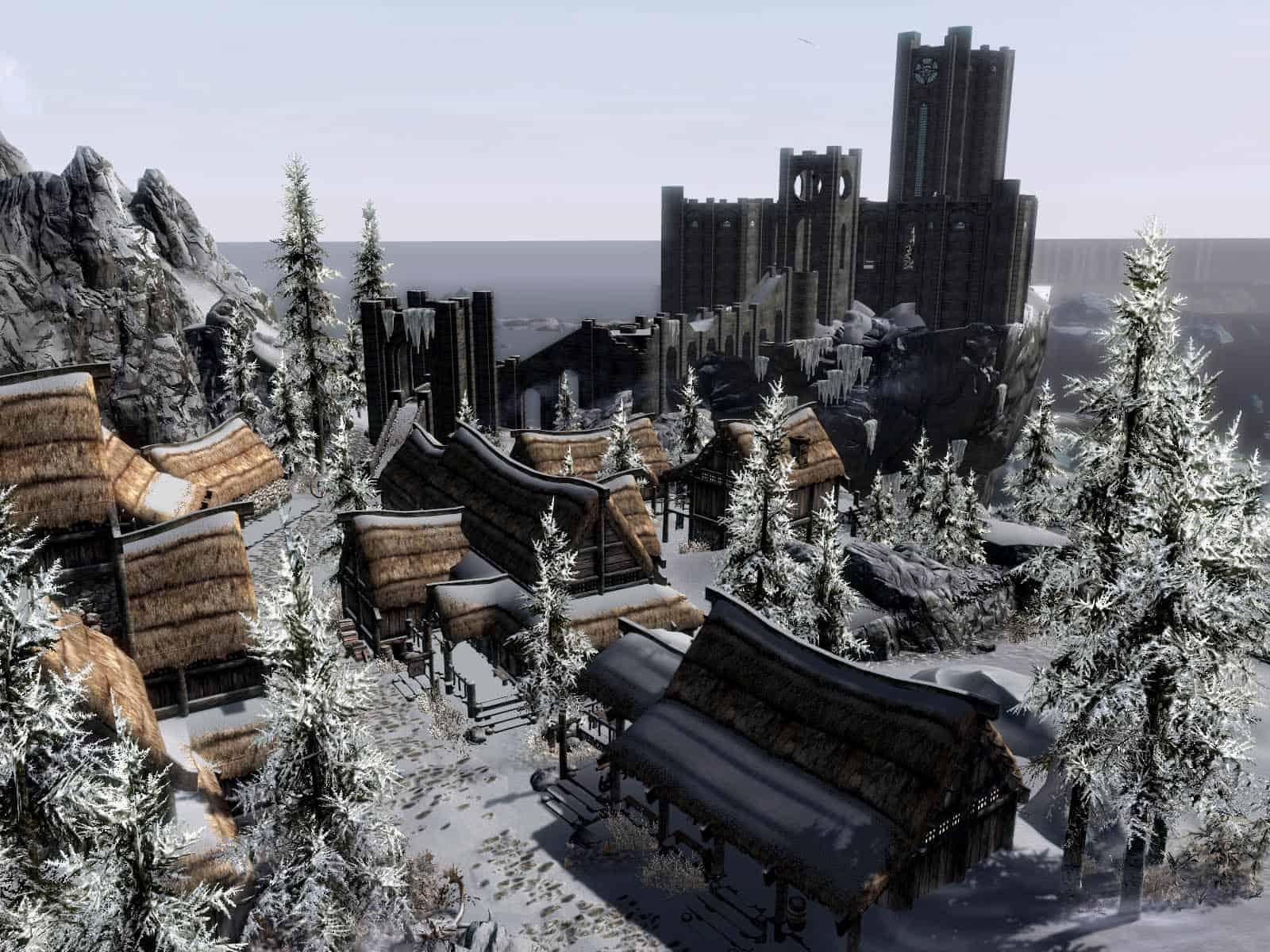 Winterhold Rebuild best skyrim mods