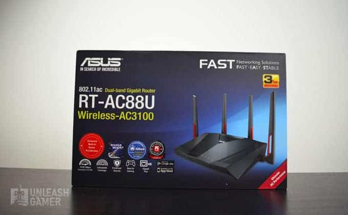 ASUS RT-AC88U Review - Gaming Router | Unleash the Gamer