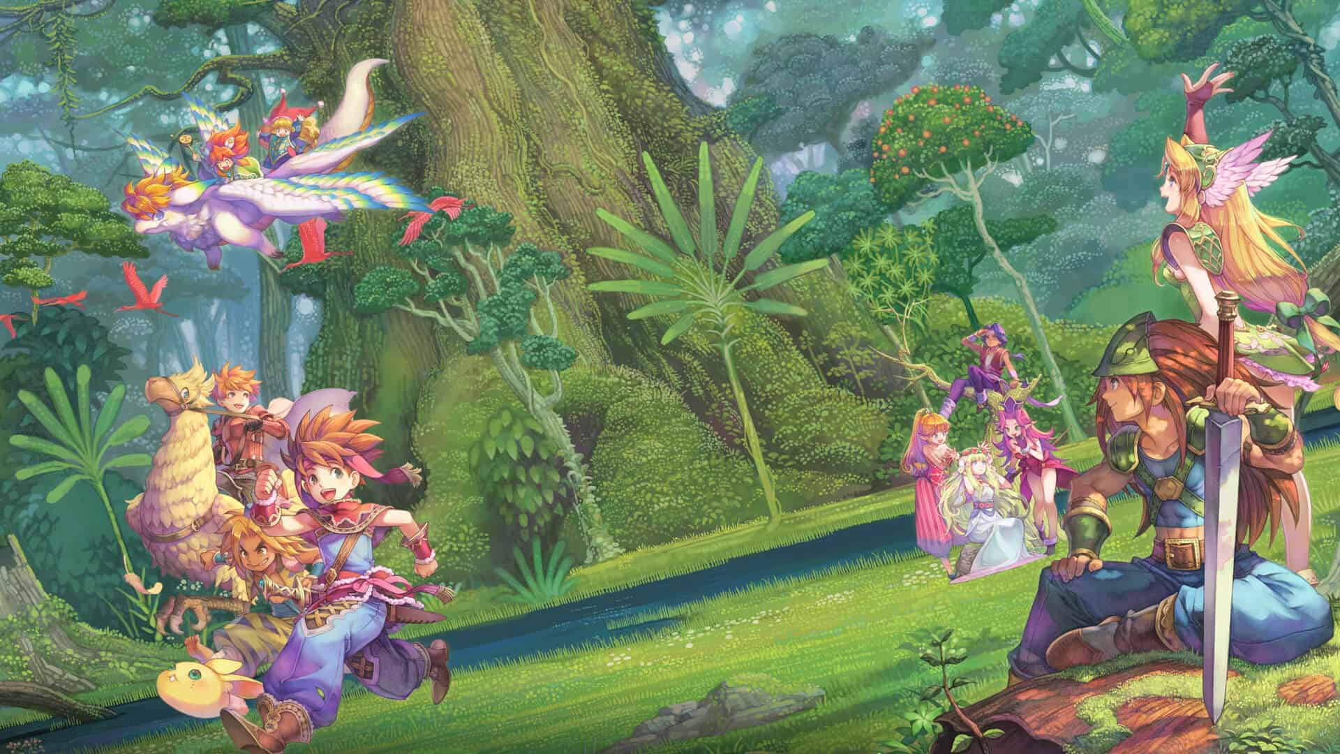 collection of mana best switch rpgs
