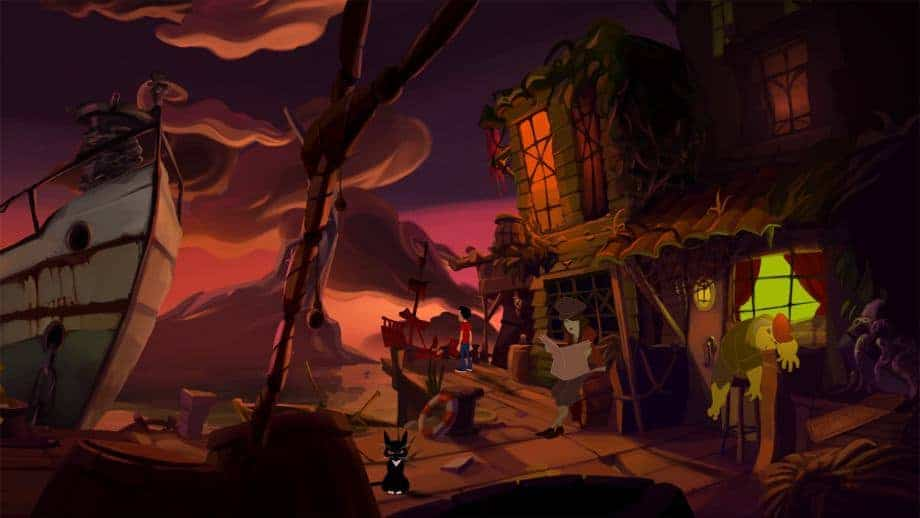 Gibbous - A Cthulhu Adventure screenshot from the game