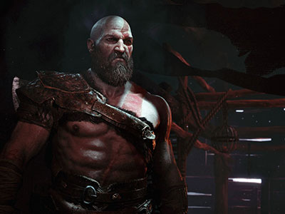 kratos hottest video game characters