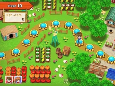 harvest moon mad dash games like stardew valley