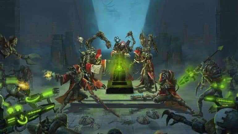 warhammer mechanicus games like xcom