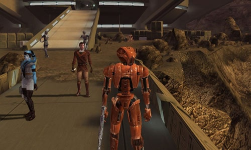Star Wars Knights of the Old Republic games like mass effect