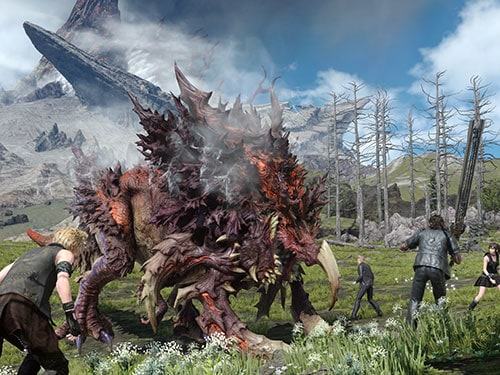 best games of 2010s final fantasy 15