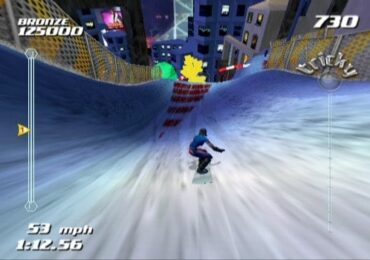 SSX tricky christmas video games