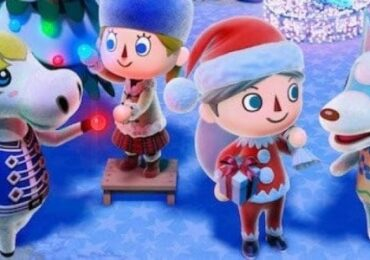 animal crossing new leaf christmas video games