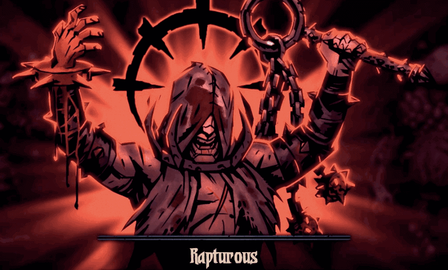 Rapturous affliction mechanic for Flagellant in Darkest Dungeon