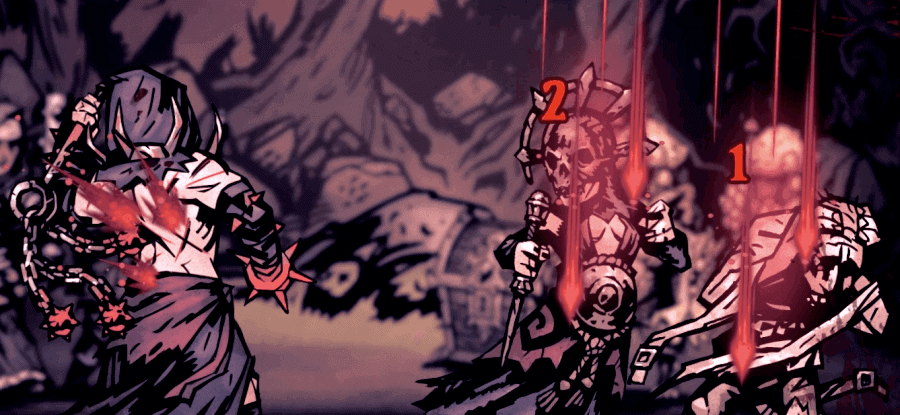 Rain of Sorrows Ability - Darkest Dungeon Flagellant guide