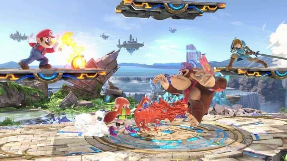 Nintendo Switch Games - Super Smash Bros