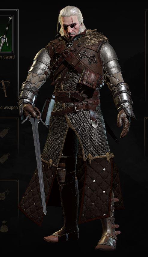 Bear Silver Sword