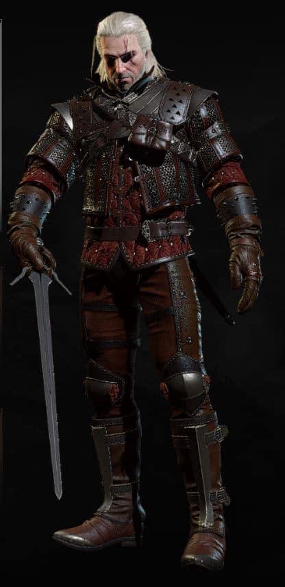 Wolf Silver Sword