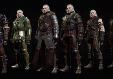 best witcher 3 armor sets