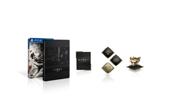 special edition ps 4 ghost of tsushima