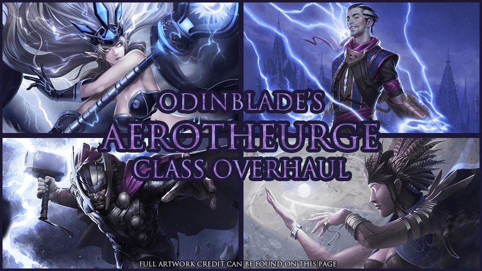 Aerotheurge Class