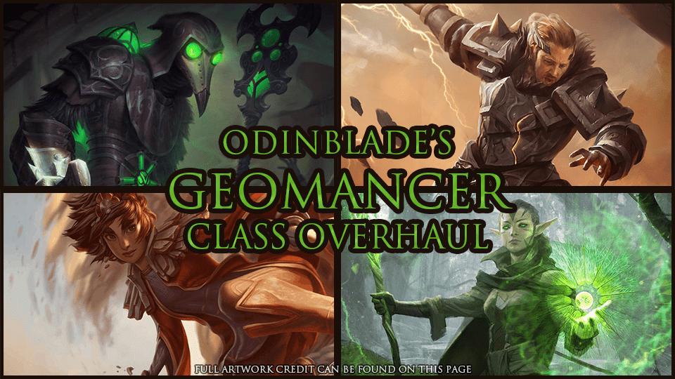 Geomancer Class