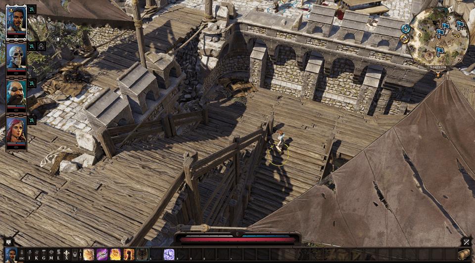 Fort Joy Overworld step 11