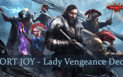 Divinity Original Sin 2 Guide: Fort Joy – Lady Vengeance Deck