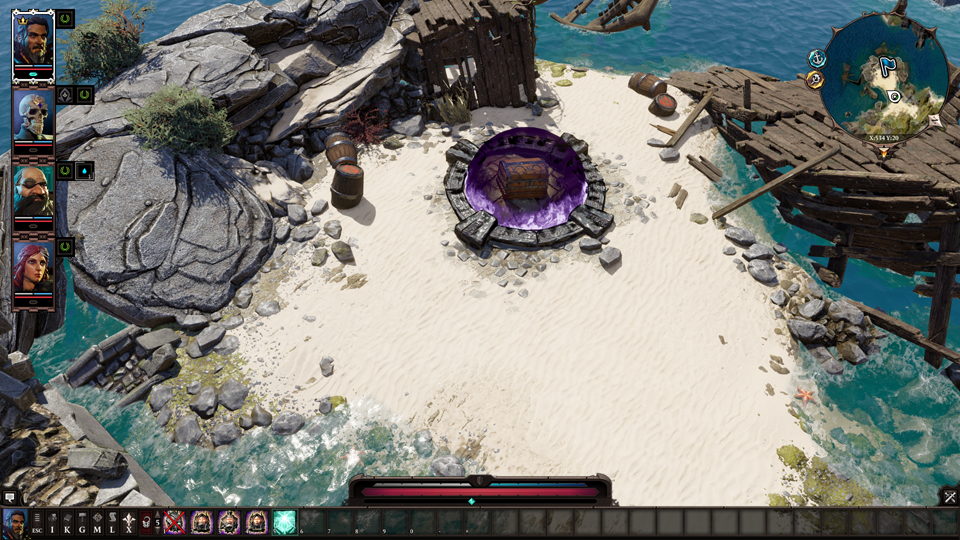 Fort Joy Overworld Step 52