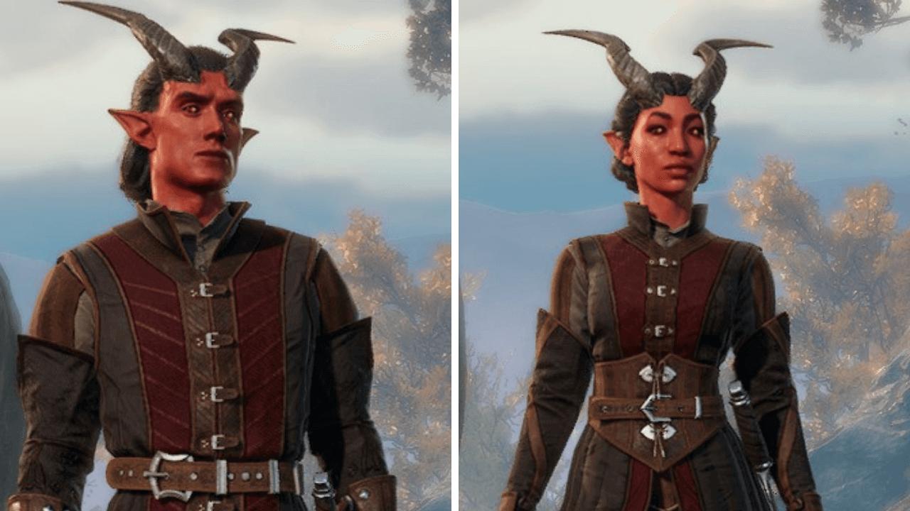 Tieflings Baldur's Gate Character Creation