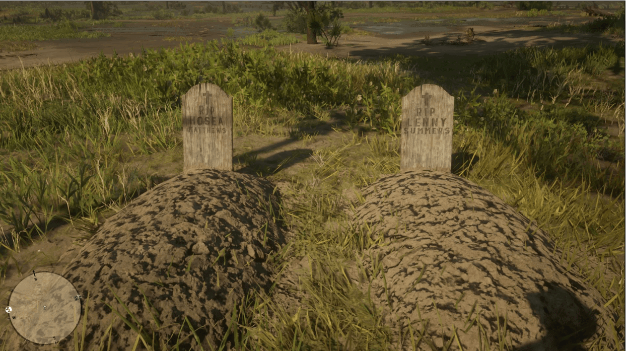 Hosea and Lenny's Graves